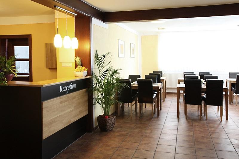 Hotel Goldene Traube Bad Windsheim Rezeption Goldene Traube