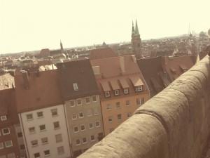 Nürnberg alte Reichsstadt nahe Bad Windseheim